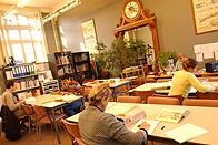 la salle de lecture des archives du mans
