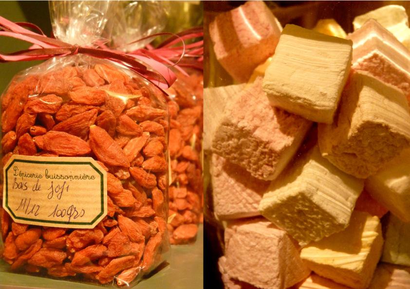 les bonbons de l'Épicerie buissonniere