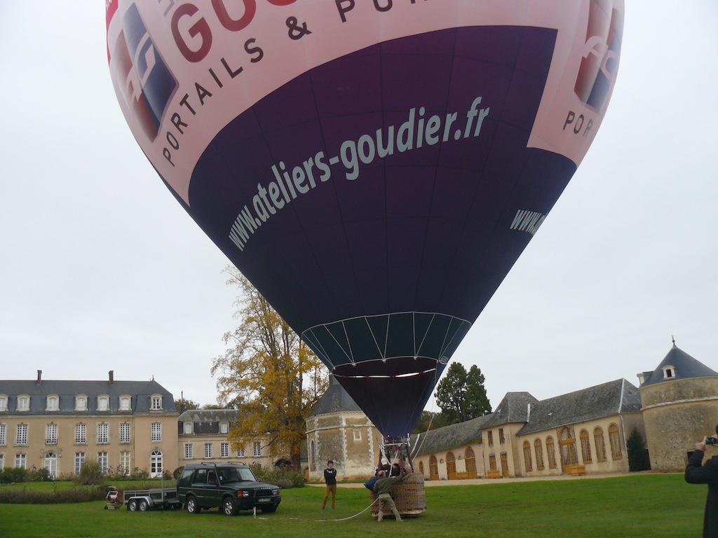 Un baptême de l'air en montgolfière, avec Altitude 2.0