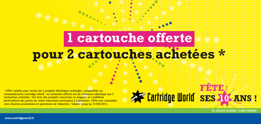 Promotion Cartridge World